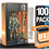 Thumbnail: 100 Pack Deflector Box Orange/Blue Star Wars Black Series FigureShield - DFR-1