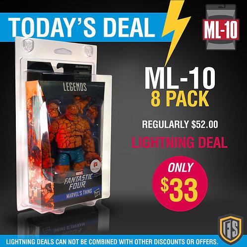 LIGHTNING DEAL 8 Pack ML-10 Marvel Legends, DC Multiverse +