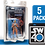 "Thumbnail: 5pk Star Wars 40th Anniversary 6"" FigureShield - SW40-5"