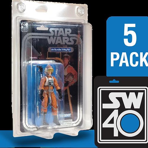 "5pk Star Wars 40th Anniversary 6"" FigureShield - SW40-5"