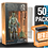 Thumbnail: 50 Pack Deflector Box Orange/Blue Star Wars Black Series FigureShield - DFR-1