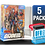Thumbnail: 5 Pack Deflector Box CLASSIFIED GI JOE Series FigureShield - DFR-1