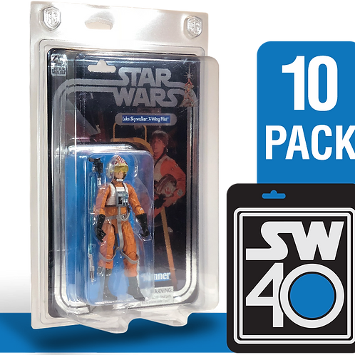 "10pk Star Wars 40th Anniversary 6"" FigureShield - SW40-10"
