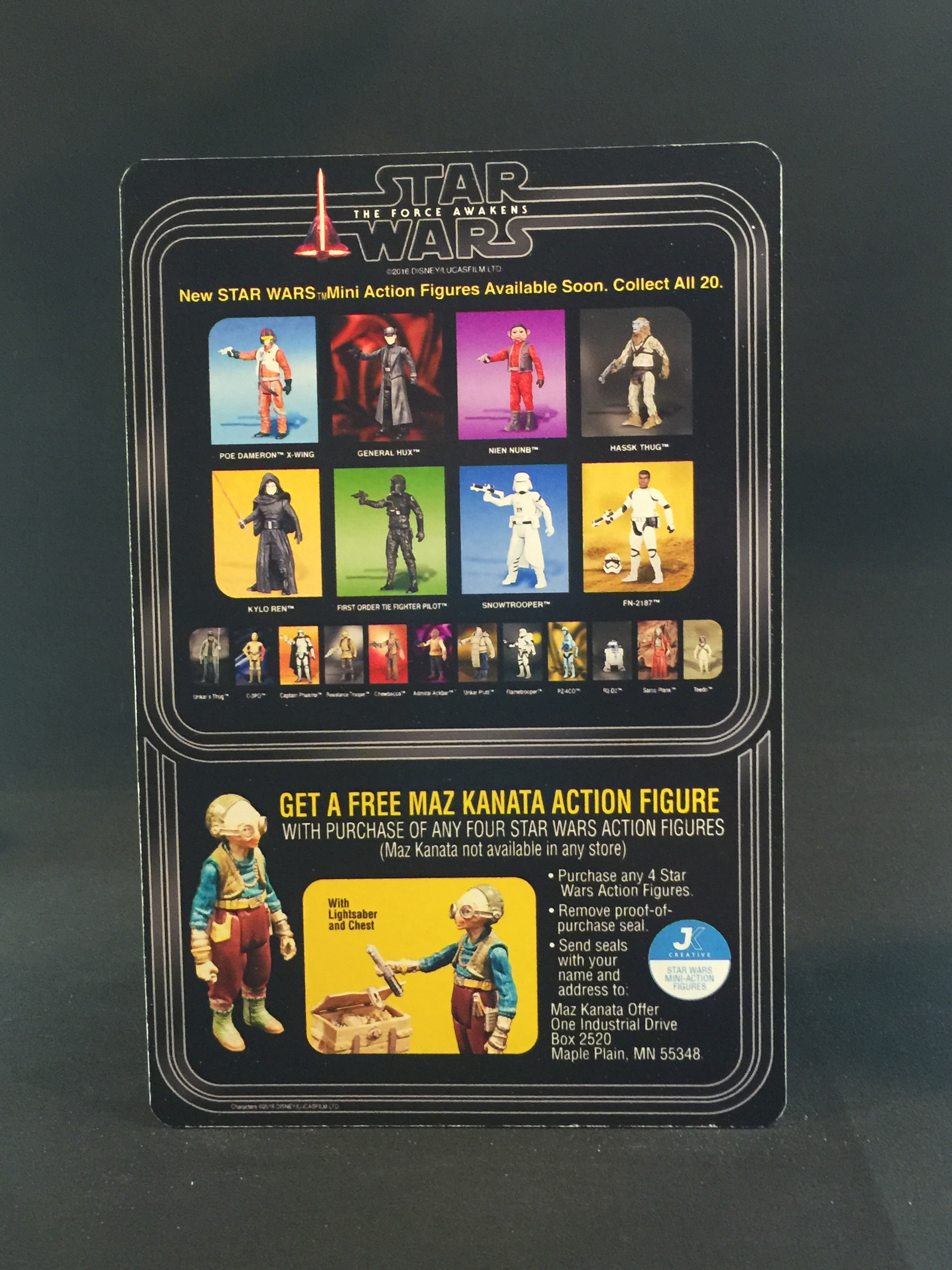 TFA Card Back Style 2 Maz Offer