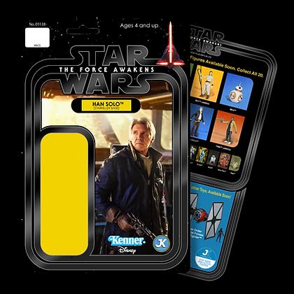 Han Solo Starkiller Base card
