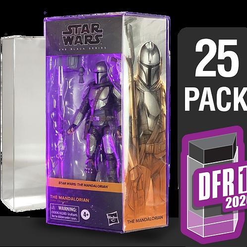 25 Pack Deflector Box 2020 Star Wars Black Series FigureShield - DFR-1