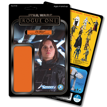 Jyn Erso (Imperial Ground Crew Disguise) card