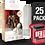 Thumbnail: 25 Pack Deflector Box Red Line Star Wars Black Series FigureShield - DFR-1