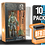 Thumbnail: 10 Pack Deflector Box Orange/Blue Star Wars Black Series FigureShield - DFR-1