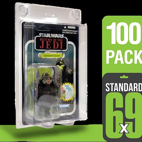 100 Pack Standard 6x9 FigureShield - ST-69