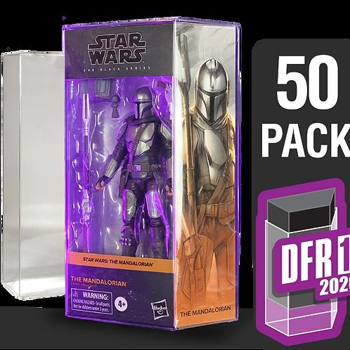 50 Pack Deflector Box 2020 Star Wars Black Series FigureShield - DFR-1