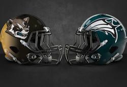 Marvel NFL Helmets