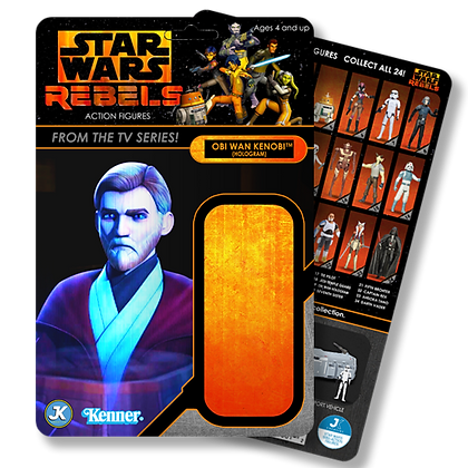 Obi Wan Kenobi Hologram Rebels card