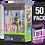 Thumbnail: 50 Pack Deflector Box 2020 DELUXE Star Wars Black Series FigureShield - DFR-1