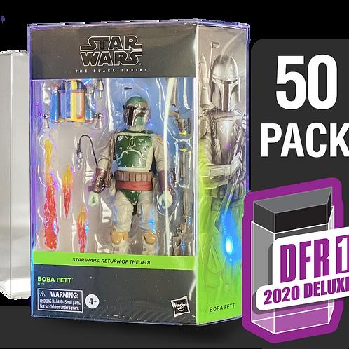 50 Pack Deflector Box 2020 DELUXE Star Wars Black Series FigureShield - DFR-1