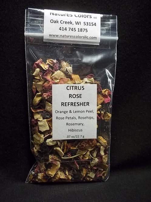 Citrus Rose Refresher