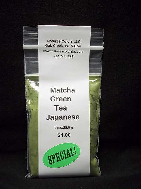 Matcha Green Tea Powder - Japanese