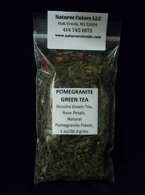 Pomegranite Green Tea