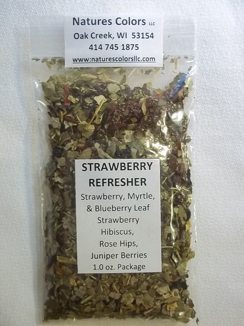 Strawberry  Refresher Tea