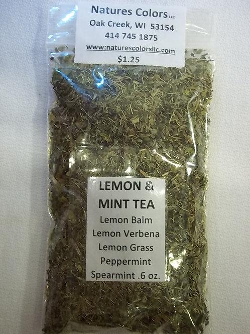 Lemon & Mint Tea