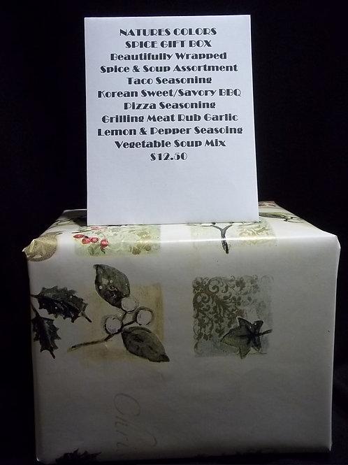 Spice & Soup Mix Gift Box
