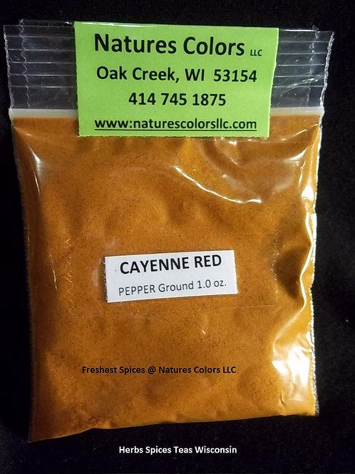 Ceyenne Red Pepper Ground