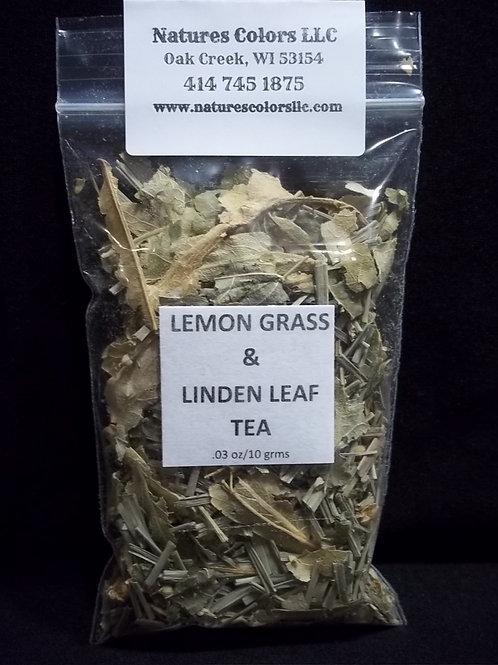 Lemon Grass & Linden Leaf Tea
