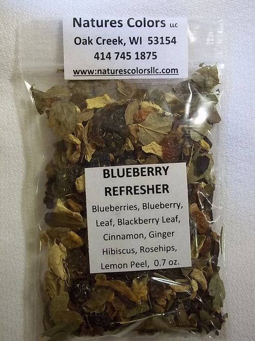 Blueberry Refresher  Tea
