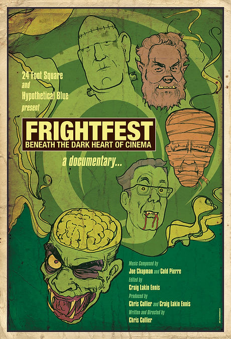 FrightFest BDHC - One Sheet