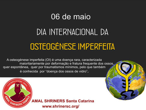 Dia Internacional da Ostogênse Imperfeita
