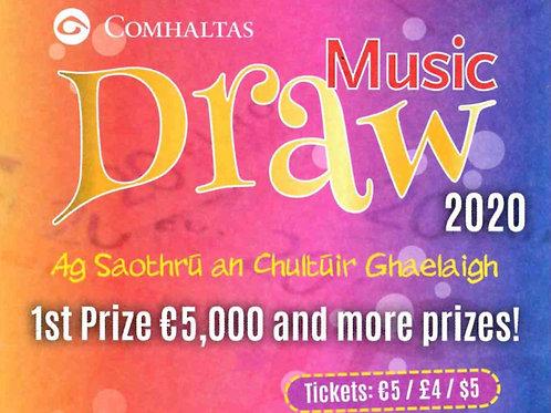 Comhaltas Music Draw 2020/2021Ticket
