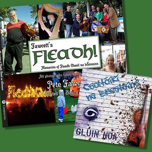 Fawcett's Fleadh book & Glúin Nua CD