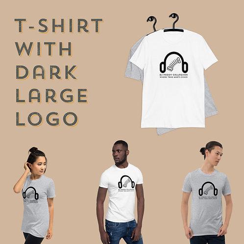 Short-Sleeve Unisex T-Shirt with Dark Logo