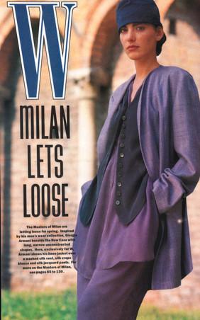 Armani W Magazine