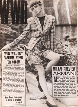 Armani WWD