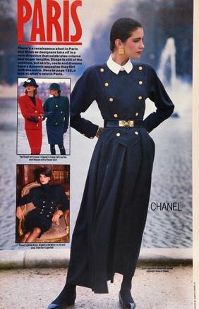Chanel W Magazine