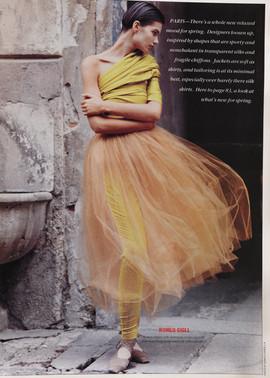 Romeo Gigli W magazine