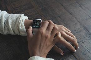 Reloj digital moderna
