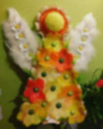 Flower angel fo funeral
