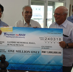 One Million for Gandhi Hall