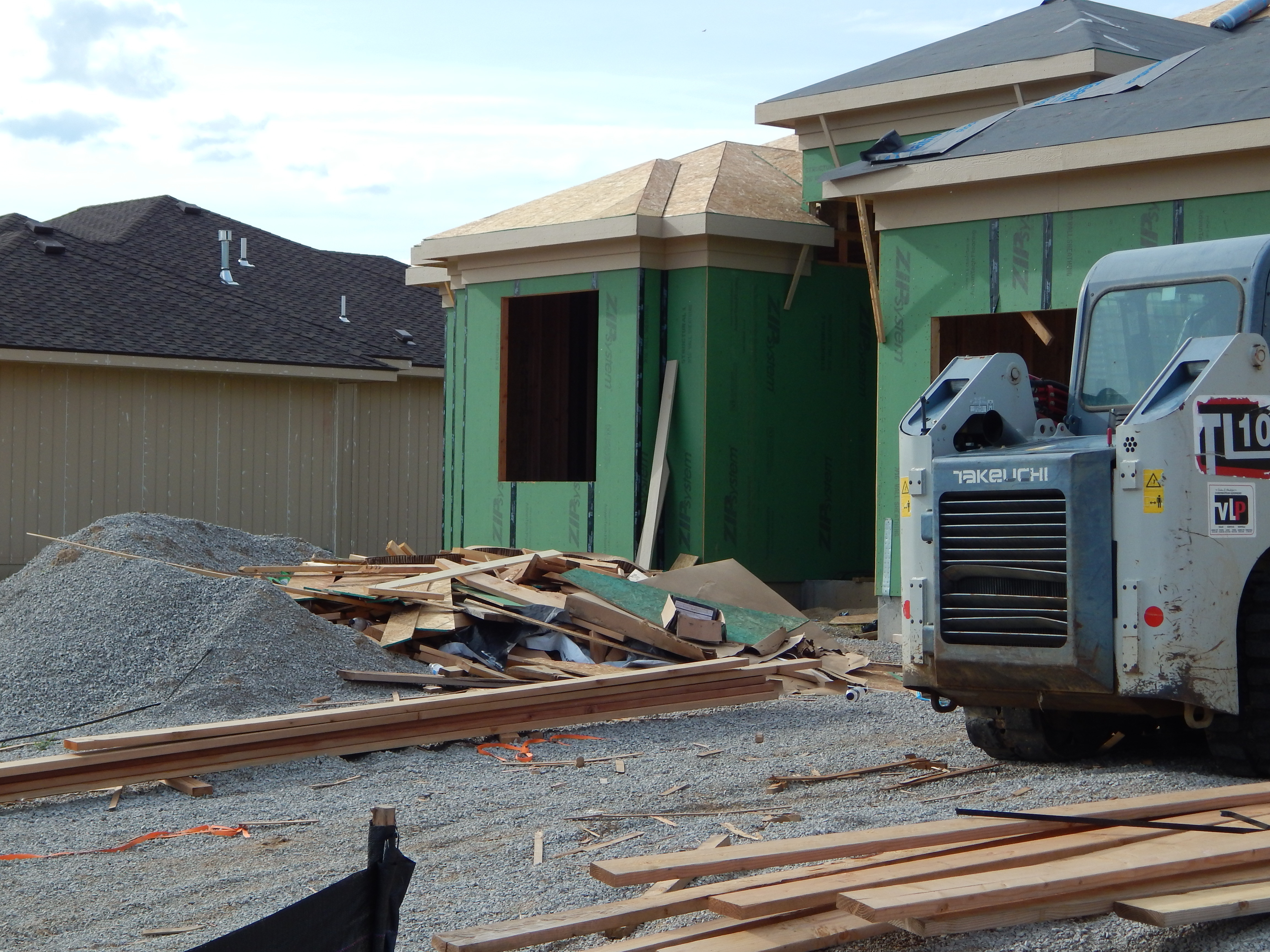 Construction Debris Clean-up