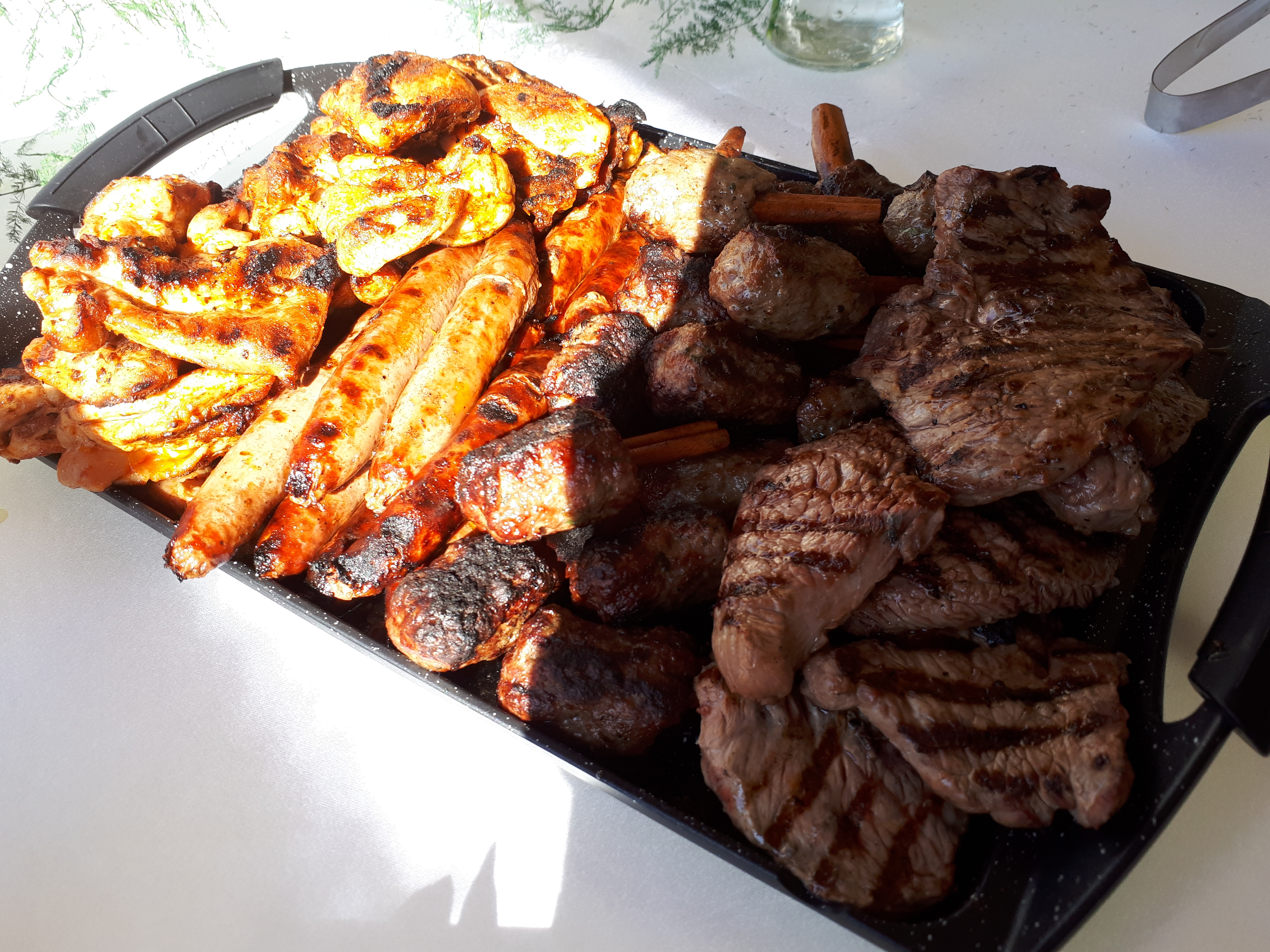 בשר מהגריל ישר לשולחן