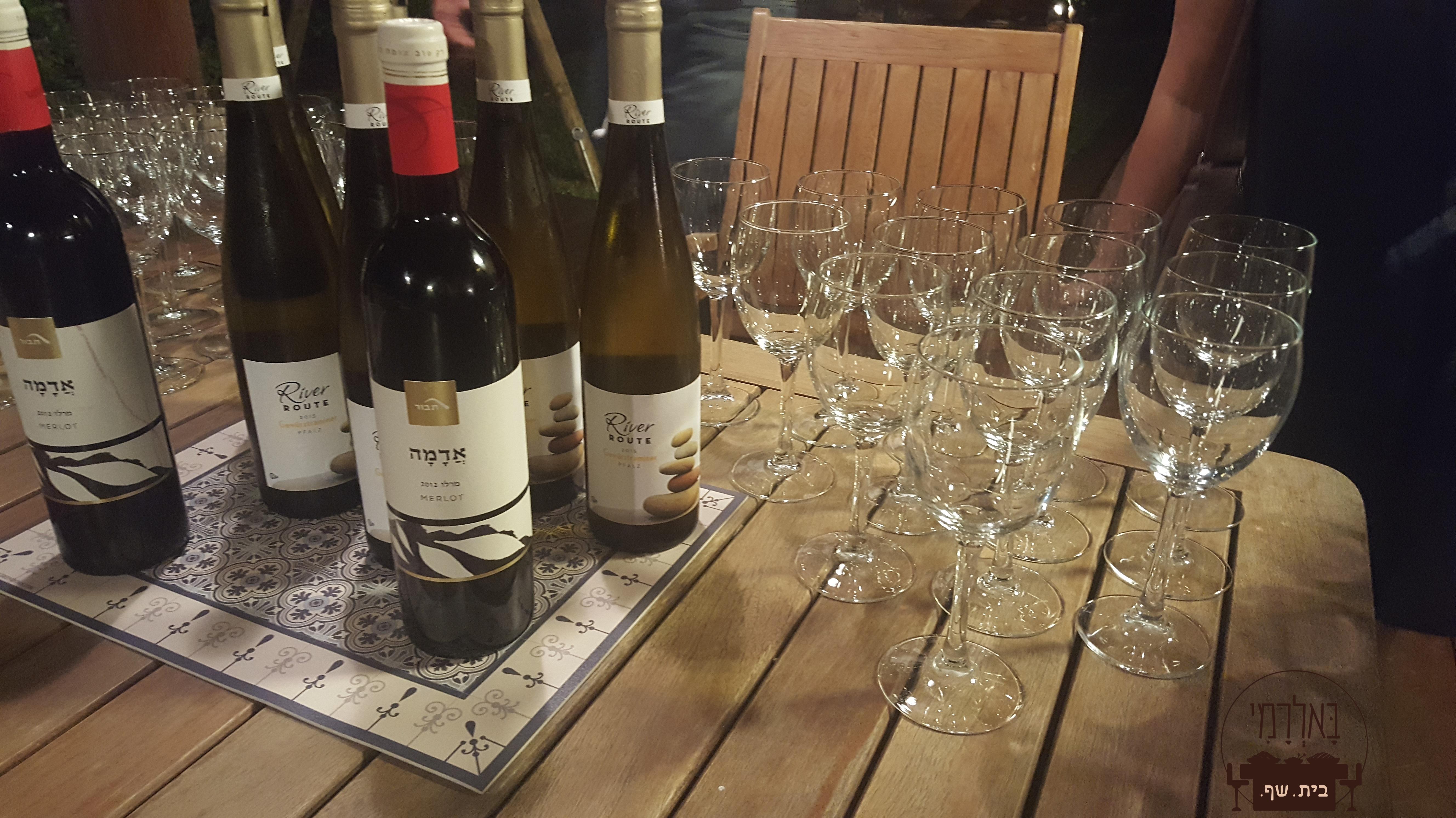 יין לבן, יין אדום ועוד קצת יין..