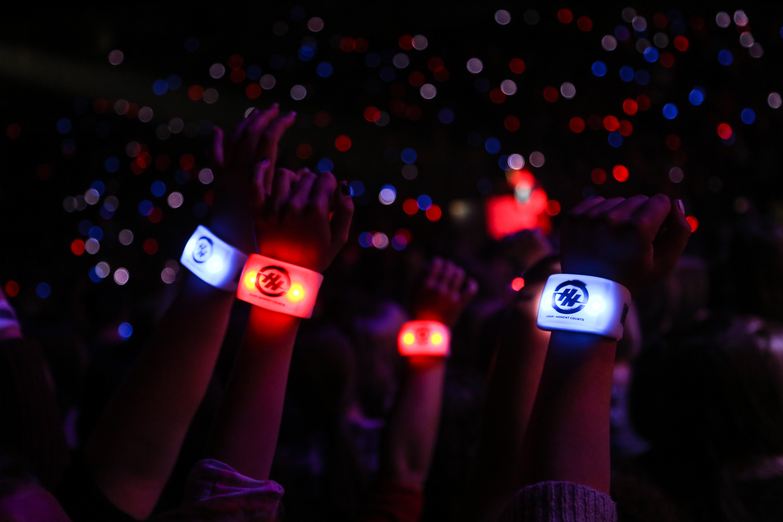 IBM Glow Bands Activation