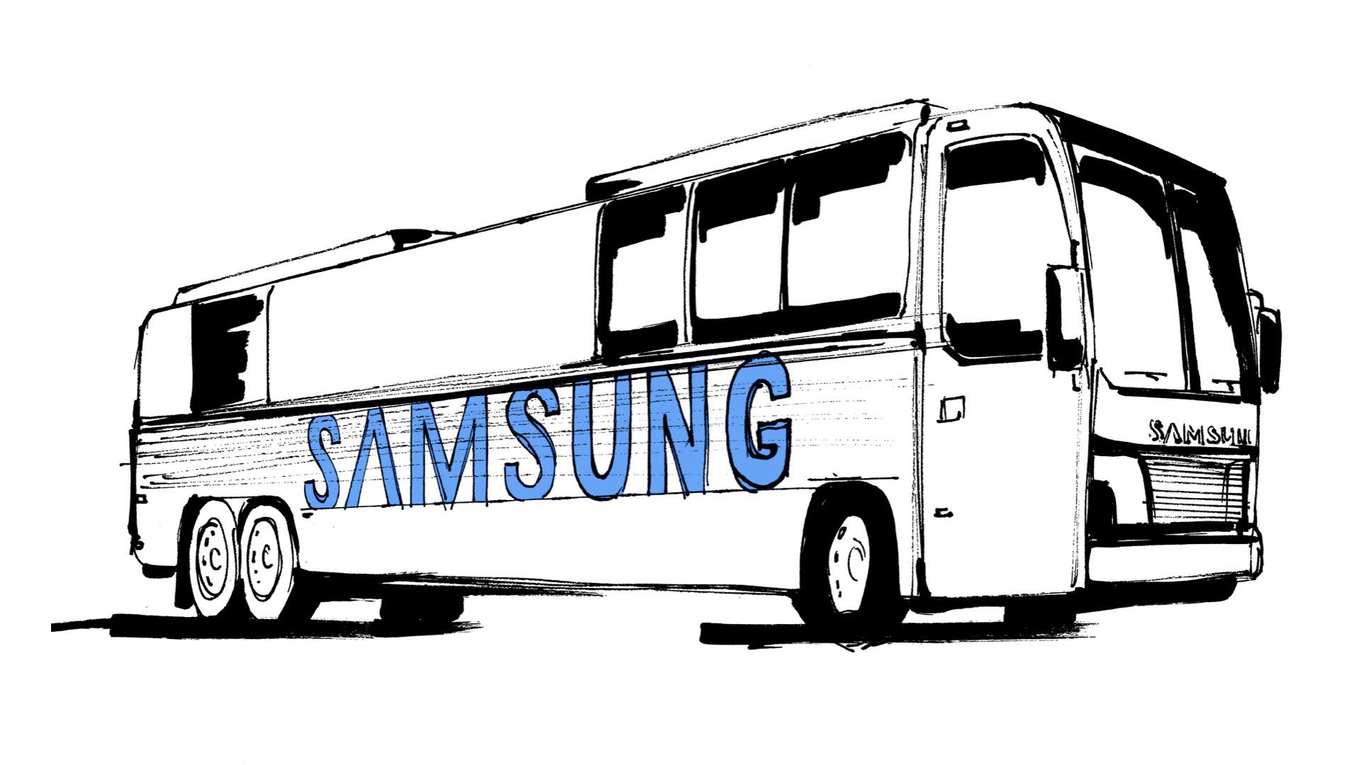Samsung Bus