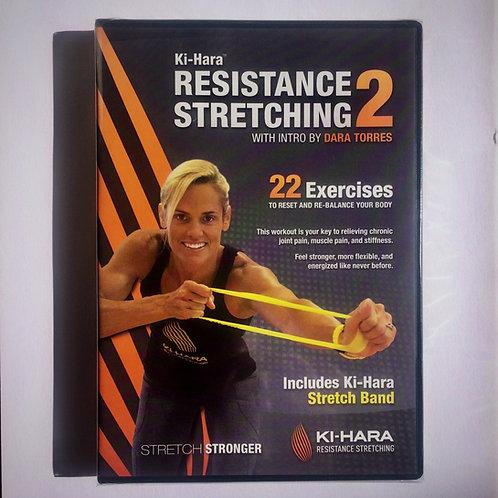 Ki-Hara Resistance Stretching DVD 2 with Dara Torres