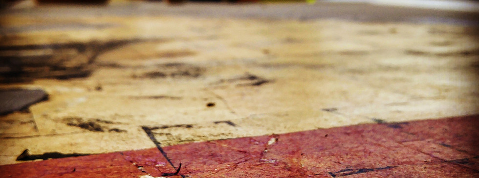 Silk Paper on Gold Leaf