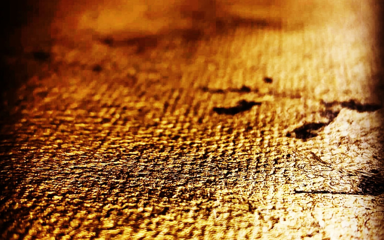 Gold Leaf on Canvas