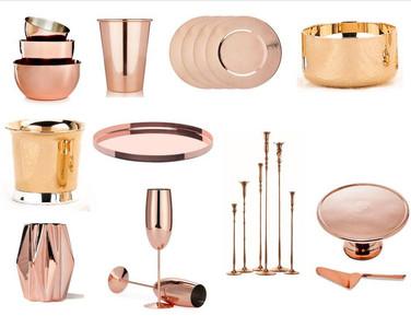 Copper plated Home Decor