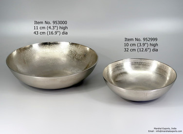 Round Classic Bowls in 2 sizes